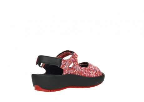 wolky sandalen 03325 rio 40950 rot multi suede_10