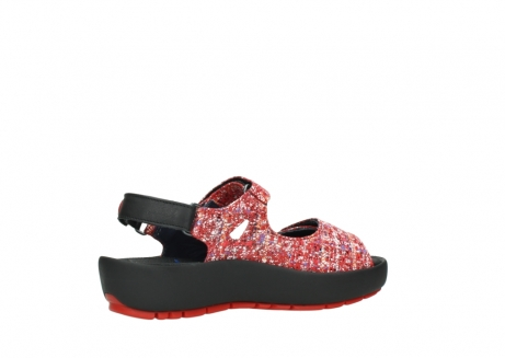 wolky sandalen 03325 rio 40950 rot multi suede_11