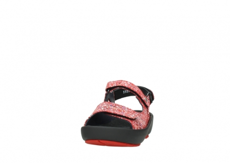 wolky sandalen 03325 rio 40950 rot multi suede_20