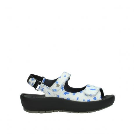 wolky sandales 03325 rio 92128 blanc casse bleu