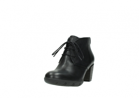 wolky lace up boots 03675 bighorn 30002 black leather_21