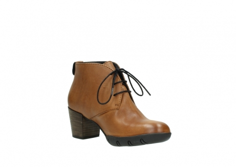 wolky lace up boots 03675 bighorn 30432 cognac leather_16