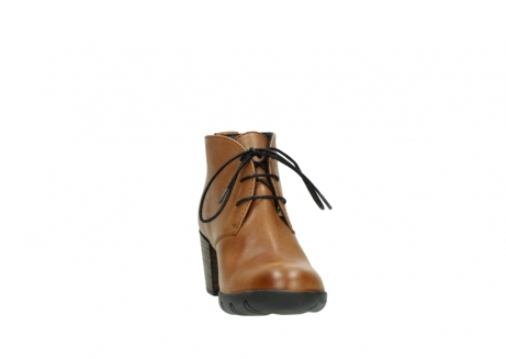 wolky lace up boots 03675 bighorn 30432 cognac leather_18