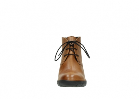 wolky lace up boots 03675 bighorn 30432 cognac leather_19