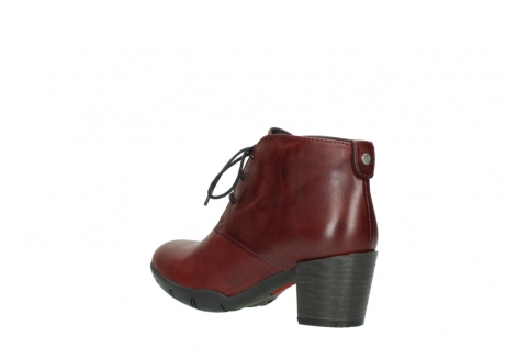 wolky lace up boots 03675 bighorn 30512 bordo leather_4