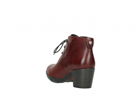 wolky lace up boots 03675 bighorn 30512 bordo leather_5