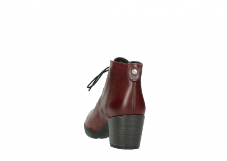 wolky lace up boots 03675 bighorn 30512 bordo leather_6
