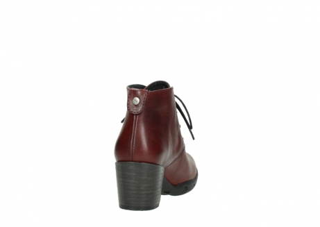 wolky lace up boots 03675 bighorn 30512 bordo leather_8