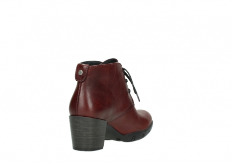 wolky lace up boots 03675 bighorn 30512 bordo leather_9