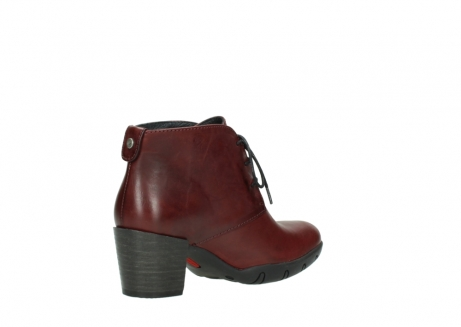 wolky lace up boots 03675 bighorn 30512 bordo leather_10