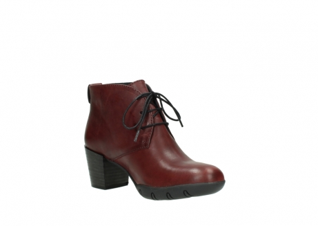 wolky bottines a lacets 03675 bighorn 30512 cuir bordeaux_16
