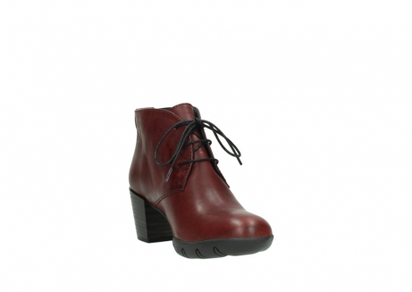 wolky bottines a lacets 03675 bighorn 30512 cuir bordeaux_17