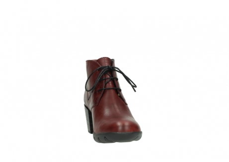 wolky bottines a lacets 03675 bighorn 30512 cuir bordeaux_18