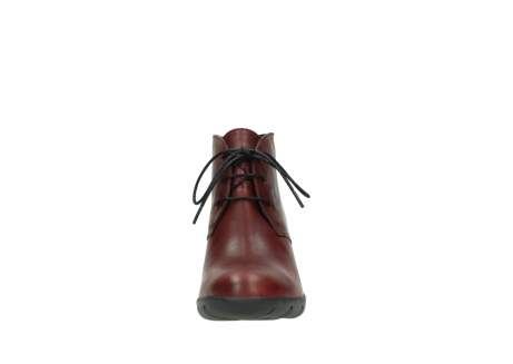 wolky bottines a lacets 03675 bighorn 30512 cuir bordeaux_19