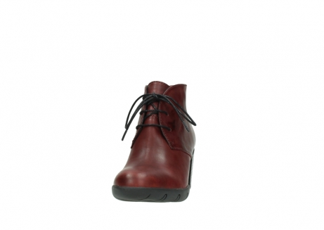 wolky lace up boots 03675 bighorn 30512 bordo leather_20