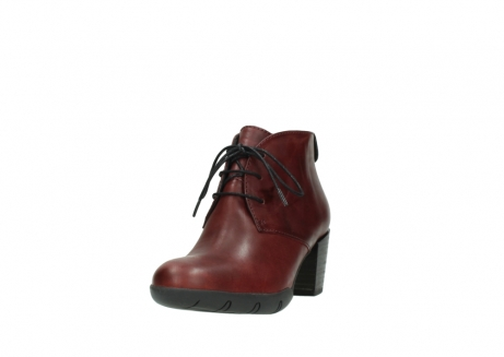 wolky lace up boots 03675 bighorn 30512 bordo leather_21