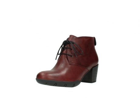 wolky bottines a lacets 03675 bighorn 30512 cuir bordeaux_22