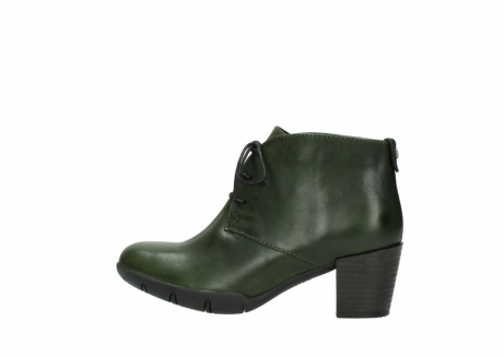 wolky lace up boots 03675 bighorn 30732 forestgreen leather_2