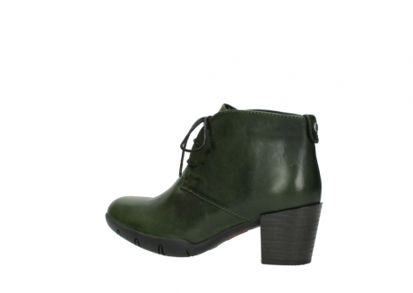 wolky lace up boots 03675 bighorn 30732 forestgreen leather_3