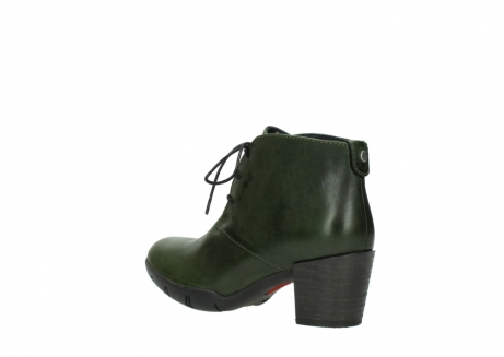 wolky lace up boots 03675 bighorn 30732 forestgreen leather_4