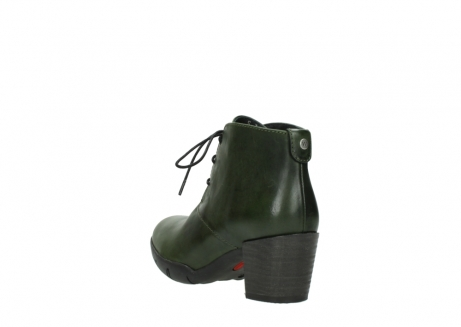 wolky lace up boots 03675 bighorn 30732 forestgreen leather_5