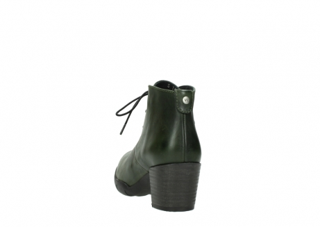 wolky lace up boots 03675 bighorn 30732 forestgreen leather_6