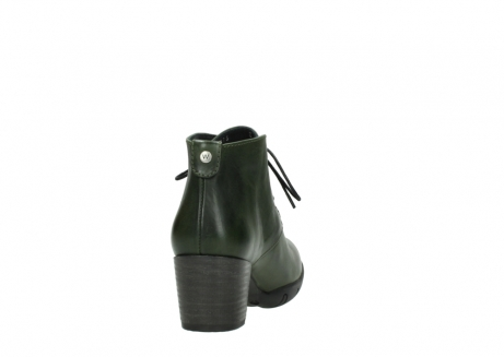 wolky lace up boots 03675 bighorn 30732 forestgreen leather_8