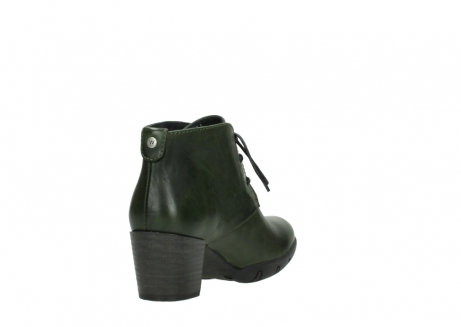 wolky lace up boots 03675 bighorn 30732 forestgreen leather_9