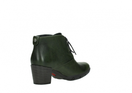 wolky lace up boots 03675 bighorn 30732 forestgreen leather_10