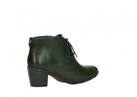 wolky lace up boots 03675 bighorn 30732 forestgreen leather_11