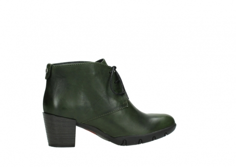 wolky lace up boots 03675 bighorn 30732 forestgreen leather_12