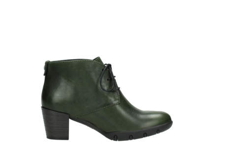 wolky lace up boots 03675 bighorn 30732 forestgreen leather_13