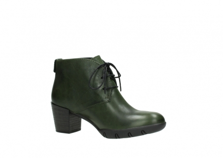 wolky lace up boots 03675 bighorn 30732 forestgreen leather_15
