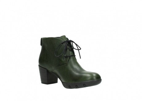 wolky lace up boots 03675 bighorn 30732 forestgreen leather_16