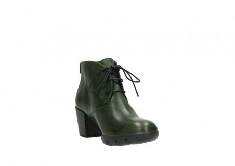wolky lace up boots 03675 bighorn 30732 forestgreen leather_17