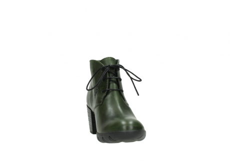 wolky lace up boots 03675 bighorn 30732 forestgreen leather_18