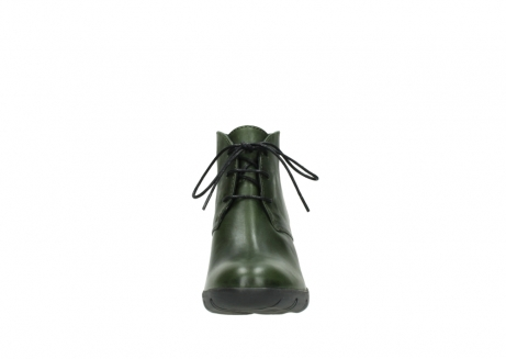 wolky lace up boots 03675 bighorn 30732 forestgreen leather_19