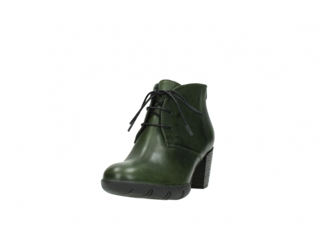 wolky lace up boots 03675 bighorn 30732 forestgreen leather_21