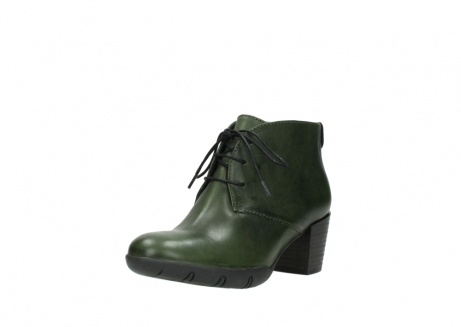 wolky lace up boots 03675 bighorn 30732 forestgreen leather_22