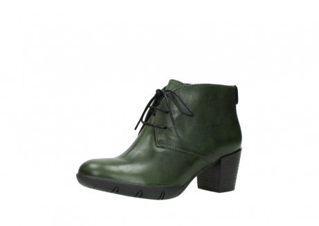 wolky lace up boots 03675 bighorn 30732 forestgreen leather_23