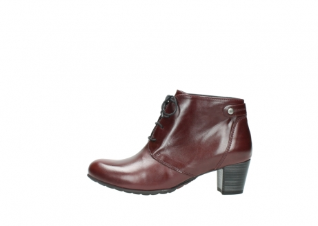 wolky ankle boots 03751 ball 20510 bordeaux leather_1