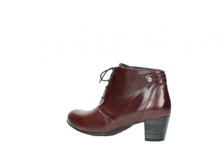 wolky ankle boots 03751 ball 20510 bordeaux leather_3