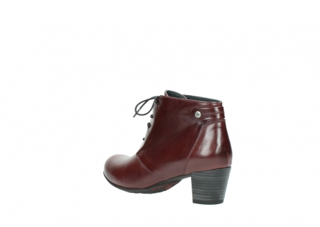 wolky ankle boots 03751 ball 20510 bordeaux leather_4