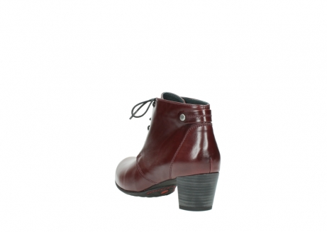 wolky ankle boots 03751 ball 20510 bordeaux leather_5