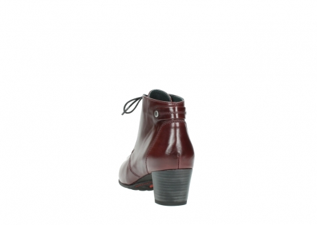 wolky ankle boots 03751 ball 20510 bordeaux leather_6