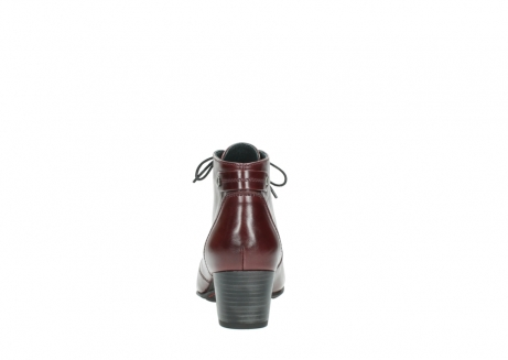 wolky ankle boots 03751 ball 20510 bordeaux leather_7