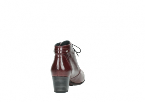 wolky ankle boots 03751 ball 20510 bordeaux leather_8