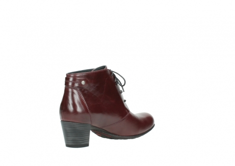 wolky ankle boots 03751 ball 20510 bordeaux leather_10