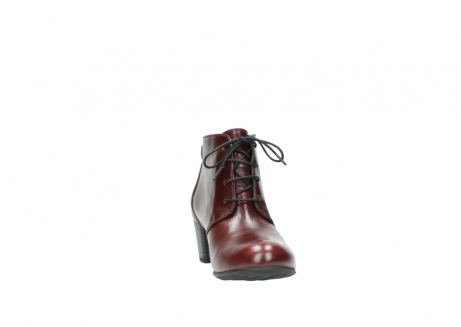 wolky ankle boots 03751 ball 20510 bordeaux leather_18