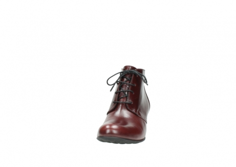 wolky ankle boots 03751 ball 20510 bordeaux leather_20